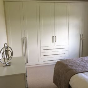 storage in bedroom